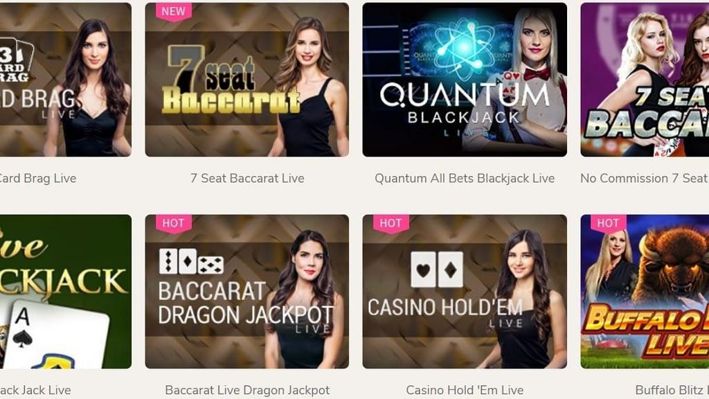 ユースカジノライブカジノゲーム