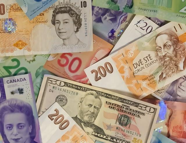 日本円以外の通貨